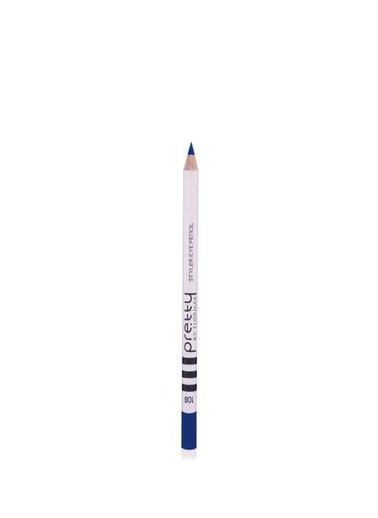 Flormar Flormar By Pretty Styler Göz Kalem 108 Indıgo Mavi